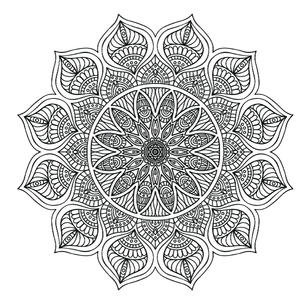 FREE COLOURING PAGES: 5 Stunning Mandalas To Colour From Complete  Concentration Colouring Book The Mindful Word