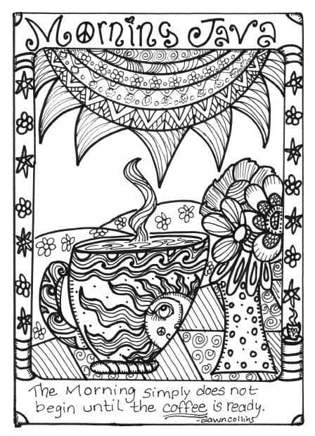 Free Coloring Pages For Adults 8 Funky Pictures From