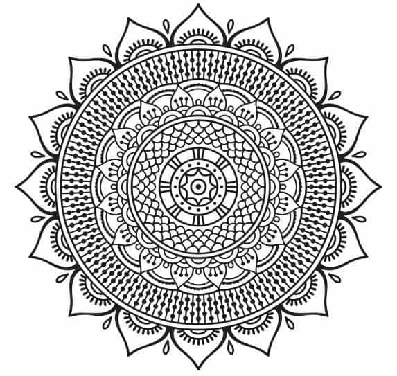 Free Coloring Pages For Adults 8 Stress Relieving Mandalas To Color From Our Sacred Circles Coloring Book The Mindful Word
