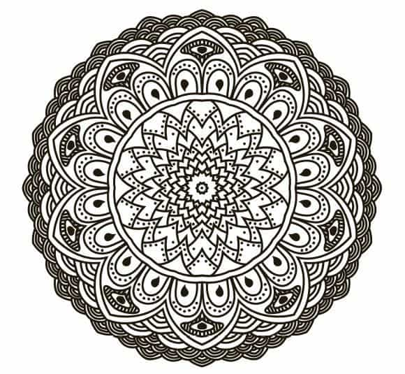 FREE COLORING PAGES FOR ADULTS: 8 Stress-relieving Mandalas To Color From  Our Sacred Circles Coloring Book The Mindful Word